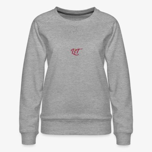 LiT CO Logo #1 - Women's Premium Sweatshirt
