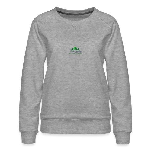 TOS logo shirt - Women's Premium Sweatshirt