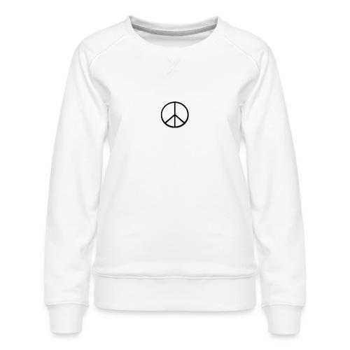 peace - Premiumtröja dam