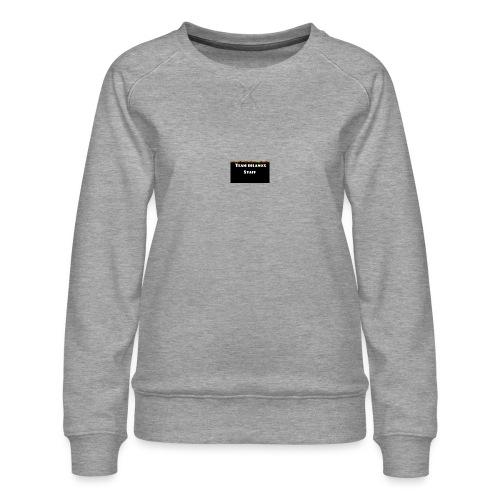 T-shirt staff Delanox - Sweat ras-du-cou Premium Femme