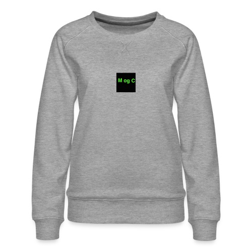 mogc - Dame premium sweatshirt