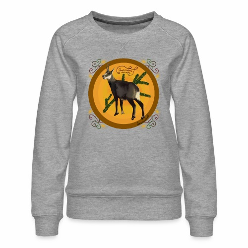Chamois chamois - Women's Premium Sweatshirt