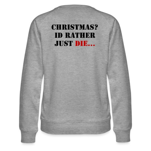 Christmas joy - Women's Premium Sweatshirt