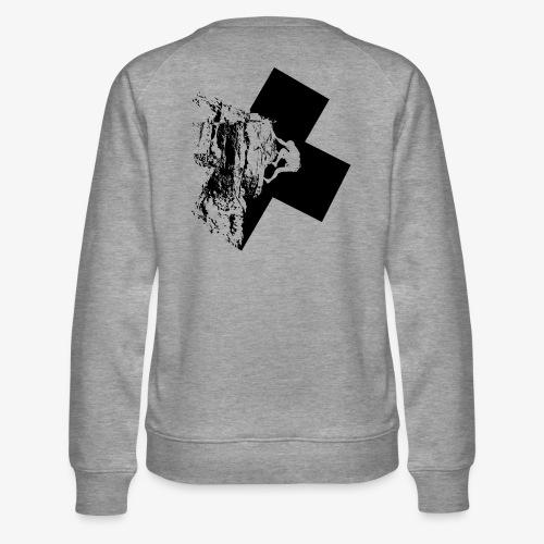 Escalada en roca - Women's Premium Sweatshirt
