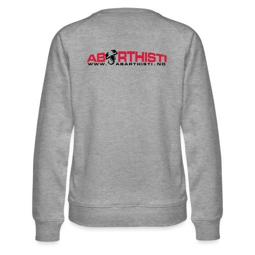 abarthlogored - Premium-genser for kvinner