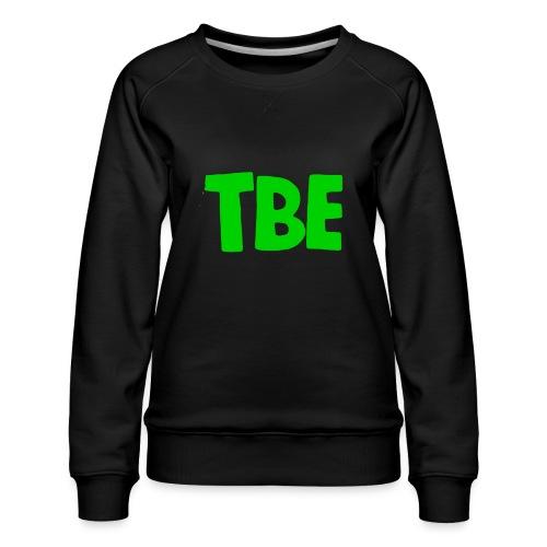Logo groen - Vrouwen premium sweater
