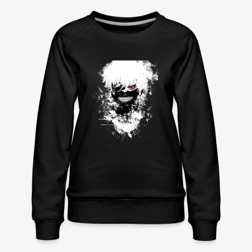 Kaneki Eye Patch - Women's Premium Sweatshirt