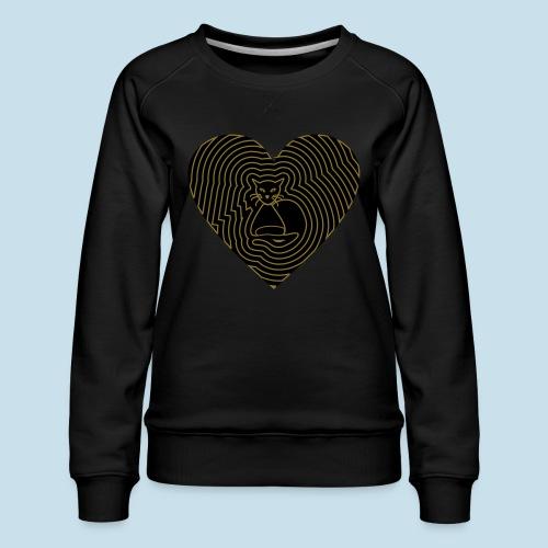 Katzenliebe - Frauen Premium Pullover