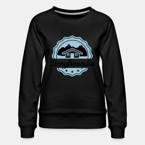 Bergfreundin - Frauen Premium Pullover