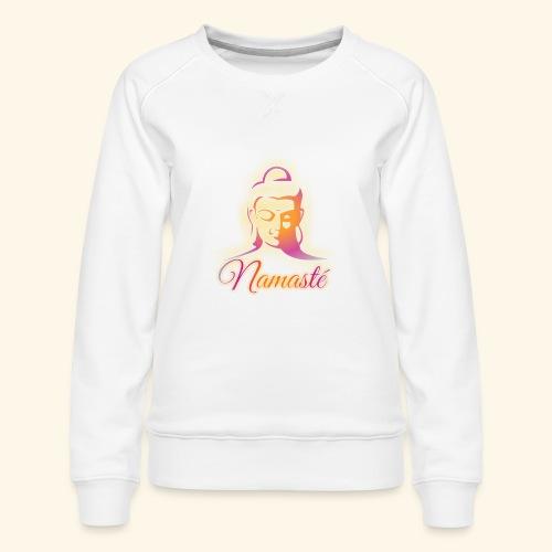 Buddha - Namasté - Frauen Premium Pullover