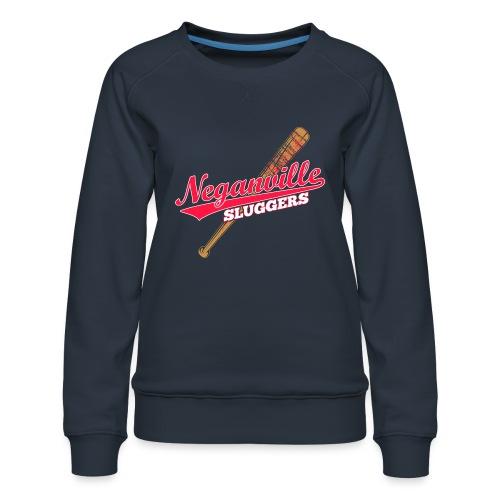 Neganville Sluggers - Women's Premium Sweatshirt