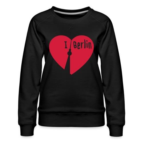 I love Berlin (1-farbig) - Frauen Premium Pullover