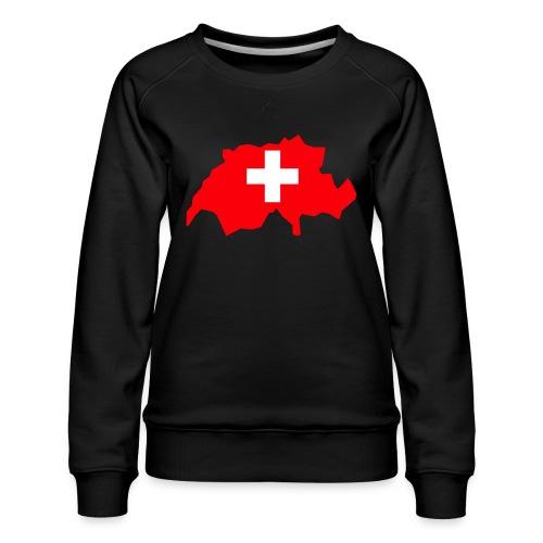 Switzerland - Vrouwen premium sweater
