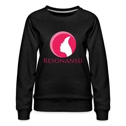 Resonanssi-kuoro ry - Naisten premium-collegepaita