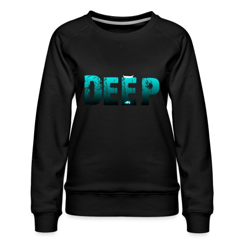 Deep In the Night - Felpa premium da donna