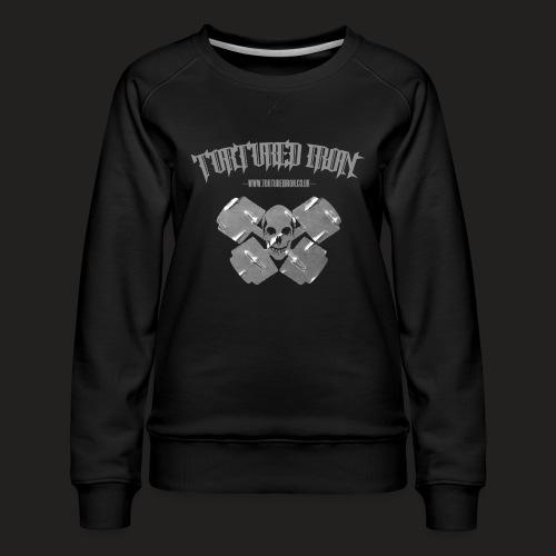 skull - Women's Premium Sweatshirt