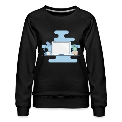 Arbeitstisch - Frauen Premium Pullover