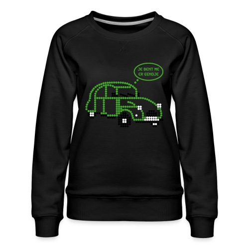 eendje.png - Vrouwen premium sweater