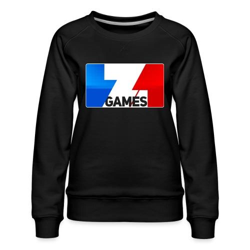 9815 2CZoominGames so MLG - Women's Premium Sweatshirt