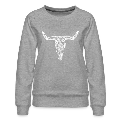 LaBestiaWhiteLogo png - Vrouwen premium sweater