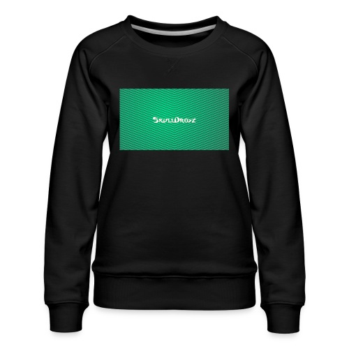 backgrounder - Frauen Premium Pullover