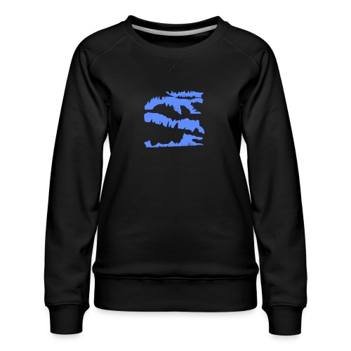 Blue_Sample.png - Frauen Premium Pullover