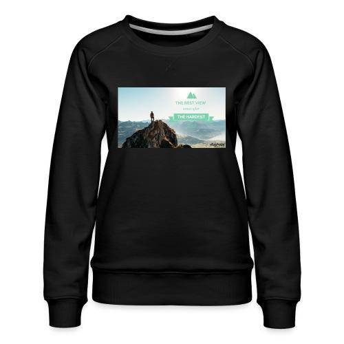 fbdjfgjf - Women's Premium Sweatshirt