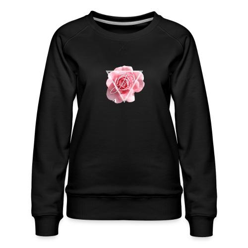 Rose Logo - Women's Premium Sweatshirt