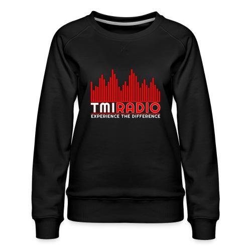 NEW TMI LOGO RED AND WHITE 2000 - Women's Premium Sweatshirt