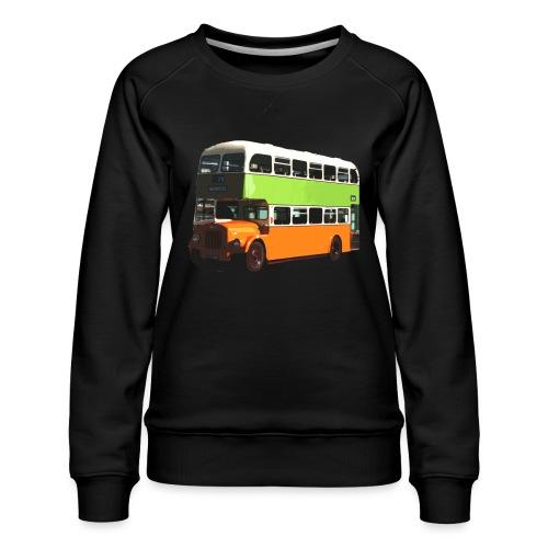 Glasgow Corporation Bus - Women's Premium Sweatshirt