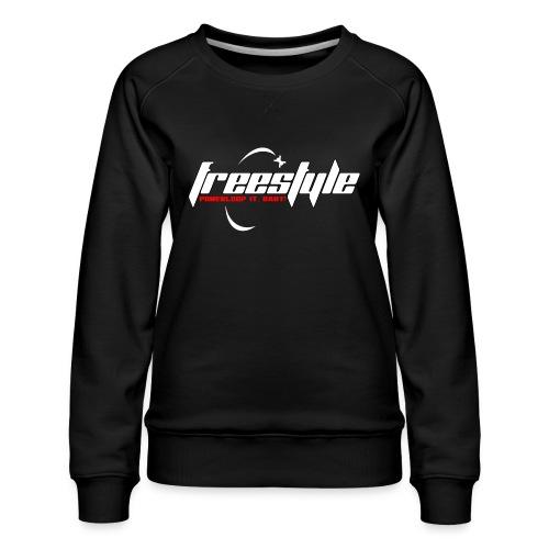 Freestyle - Powerlooping, baby! - Women's Premium Sweatshirt