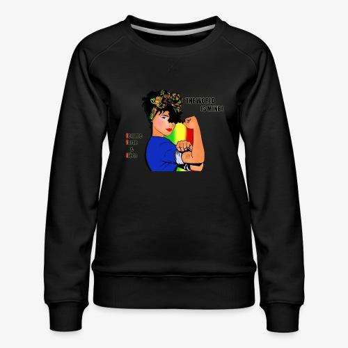 111584724 160780315 F F F - Women's Premium Sweatshirt