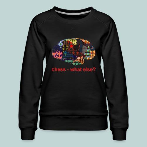 chess_what_else - Frauen Premium Pullover