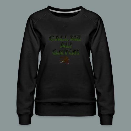 aligator2 - Frauen Premium Pullover
