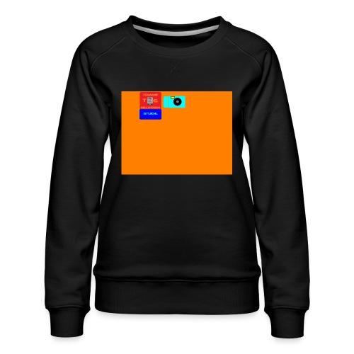 logo - Vrouwen premium sweater