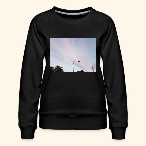 Abendhimmel - Frauen Premium Pullover