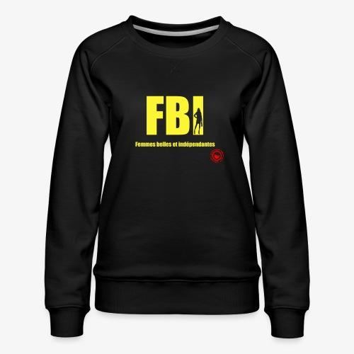 FBI - Women's Premium Sweatshirt