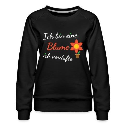 Blume Garten Gärtner Florist Shirt Geschenk - Frauen Premium Pullover