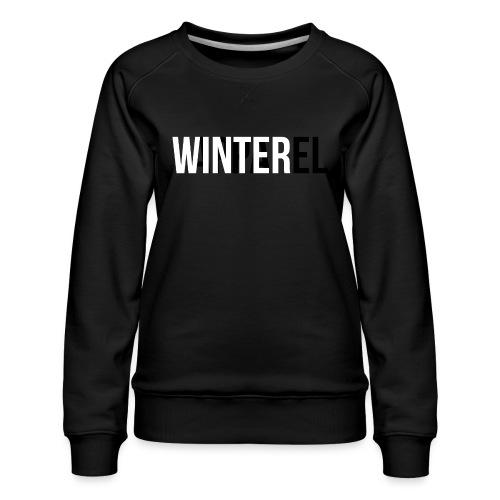 Winter Apparel Logo - Dame premium sweatshirt