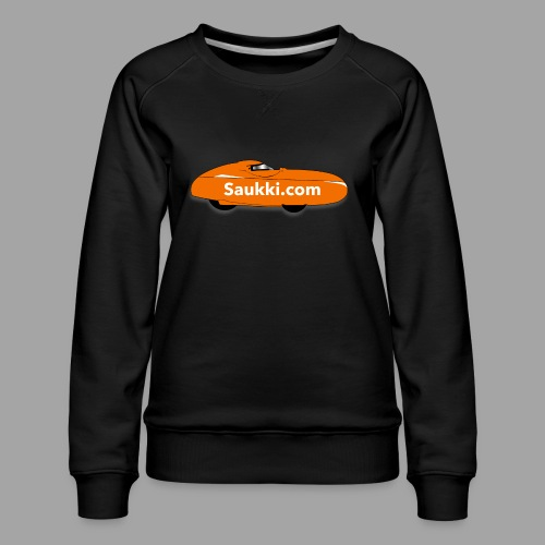 Saukki.com - Naisten premium-collegepaita