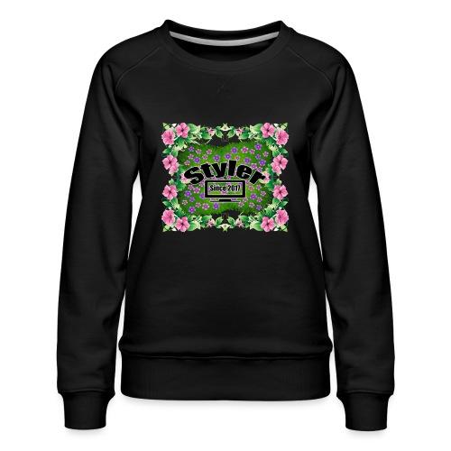 Styler Bloemen Design - Vrouwen premium sweater