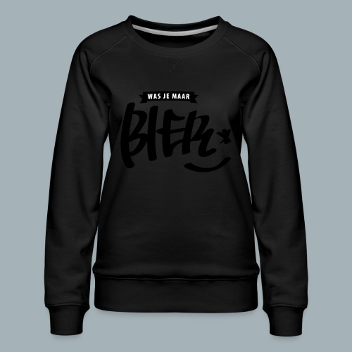 Bier Premium T-shirt - Vrouwen premium sweater
