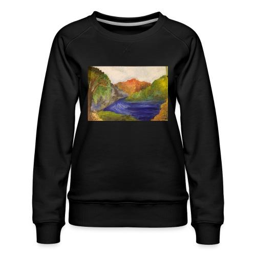 flo 1 - Women's Premium Sweatshirt