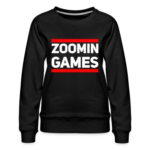 9815 2CRun ZG White - Women's Premium Sweatshirt