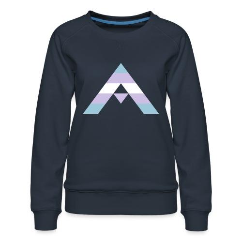 shirt_ally_trans - Premiumtröja dam