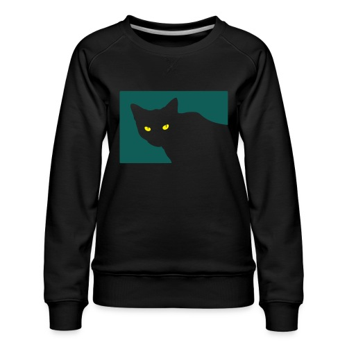 Spy Cat - Women's Premium Sweatshirt