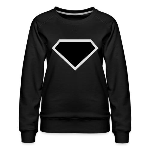 Diamond Black - Two colors customizable - Vrouwen premium sweater