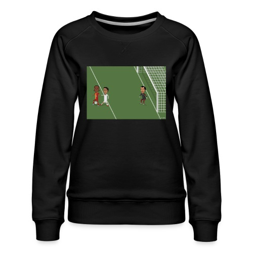 Backheel goal BG - Women's Premium Sweatshirt