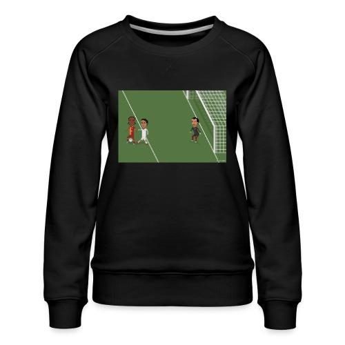 Backheel goal BG - Women's Premium Sweatshirt