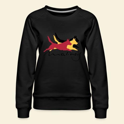 Malinois_belgian_color - Frauen Premium Pullover
